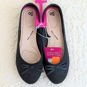 SO Boat Women's Ballet Flats 9.5 (NWT)